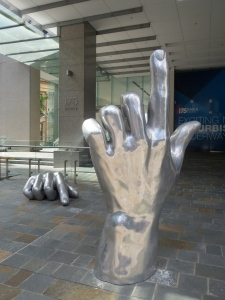 The Hands in Eagle Street