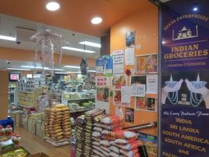 Indian supermarket Fortitude Valley walk