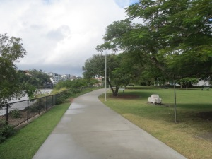 walk at Powerhouse park