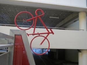 Curious QUT bike rack